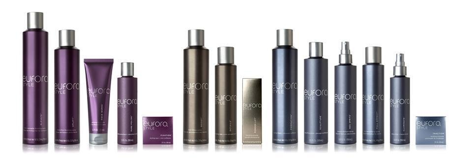 Eufora's NEW Packaging with 4 new products to the line.